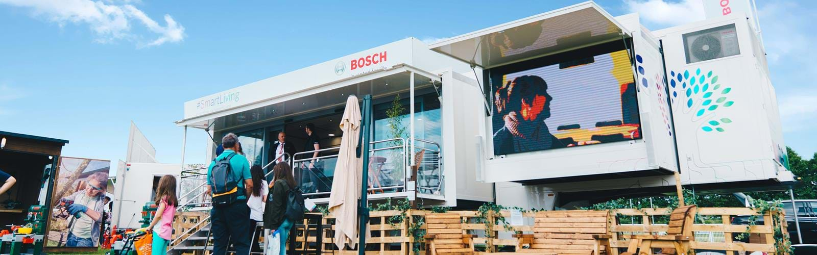 Pop up Showrooms Bosch