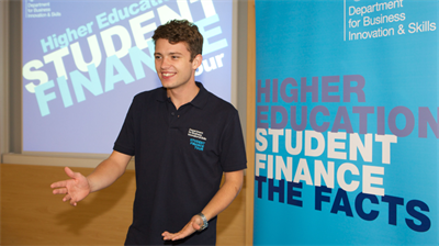 Student Finance roadshow
