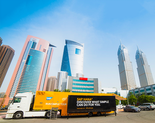 SAP Product Launch Roadshow at EMS' Dubai office in Media City