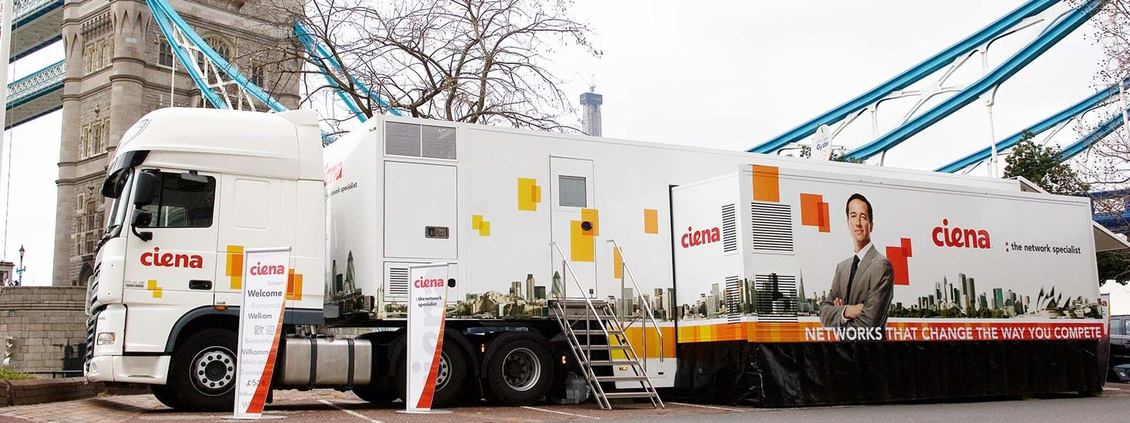 Mobile Laboratories for Ciena