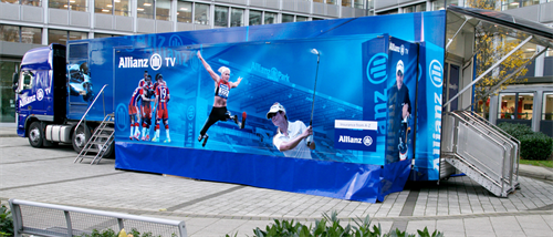 Allianz's immersive roadshow trailer