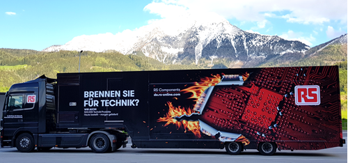 RS Components roadshow touring across Germany