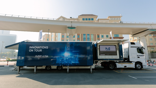 Dräger Roadshow Truck in the Middle East