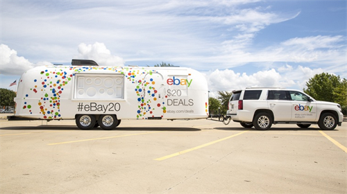 Ebay Experiential Marketing Trailer