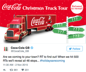Christmas Truck Tour