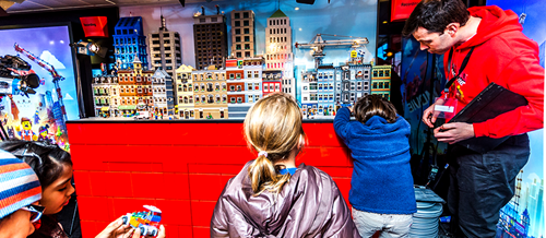 LEGo Movie experiential event