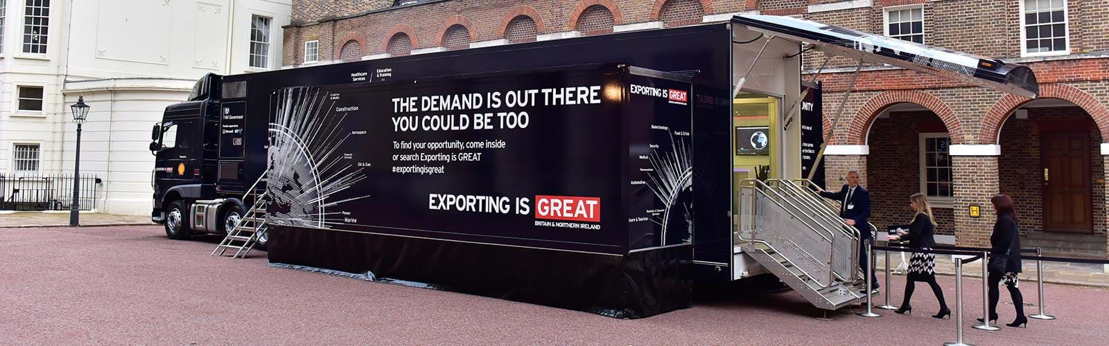 Ukti Exporting Is Great Roadshow Truck B13