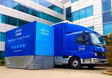 Pathfinder Roadshow Truck Listing Cisco 2