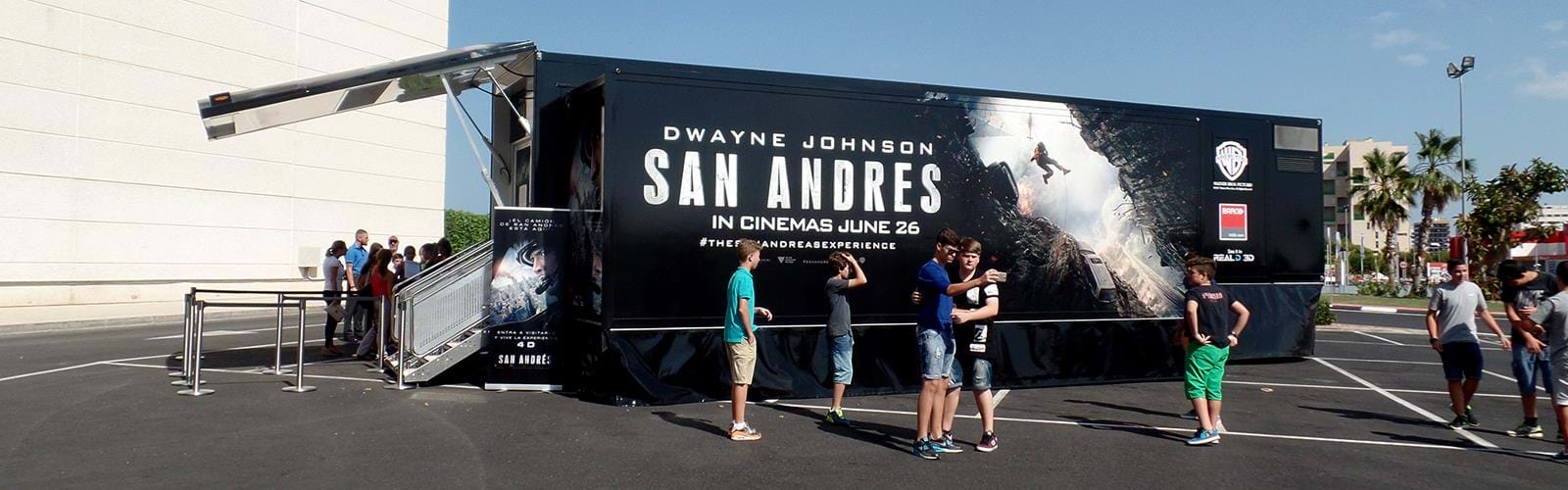 Warner Bros San Andreas Roadshow Truck B5